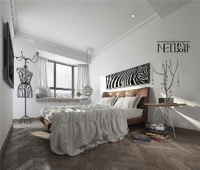 北欧风格 80后 收纳 三居 小资 卧室图片来自尼欧 | NEO设计在尼欧—《巴黎灰格调》的分享