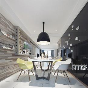 现代极简 三居 80后 小资 餐厅图片来自尼欧 | NEO设计在尼欧—《遇见》的分享