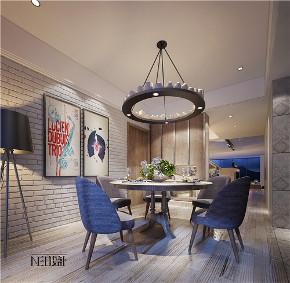 北欧风格 工业风 别墅 白领 收纳 旧房改造 80后 小资 餐厅图片来自尼欧 | NEO设计在尼欧——《归宿》的分享