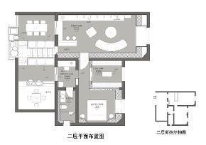 现代美式 简约 别墅 白领 收纳 旧房改造 80后 小资 户型图图片来自尼欧   NEO设计在尼欧——《韵沫》的分享