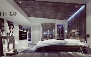 简约 二居 混搭 白领 旧房改造 收纳 80后 小资 卧室图片来自尼欧 | NEO设计在尼欧—《白色光影》的分享