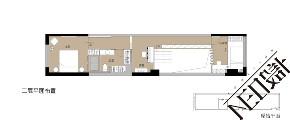简约 现代 复式 白领 收纳 旧房改造 小资 户型图图片来自尼欧 | NEO设计在尼欧—《重生》的分享