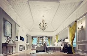 尼欧设计师 美式 别墅 福州设计师 卧室图片来自尼欧   NEO设计在尼欧—《高级灰+奢华金》的分享