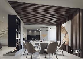 简约 别墅 白领 收纳 旧房改造 小资 餐厅图片来自尼欧 | NEO设计在尼欧作品《自在与灵动》的分享