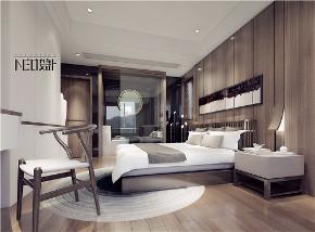新中式 三居 福州设计师 白领 收纳 旧房改造 卧室图片来自尼欧 | NEO设计在尼欧—《墨痕》的分享