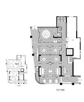中式 商业设计 旧房改造 小资 户型图图片来自尼欧 | NEO设计在尼欧作品《寻找黔味》的分享