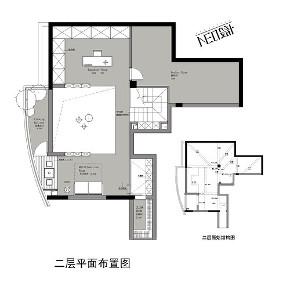 简约 别墅 白领 收纳 旧房改造 小资 户型图图片来自尼欧 | NEO设计在尼欧作品《自在与灵动》的分享