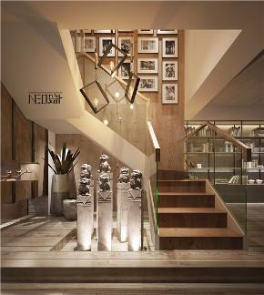 北欧风格 工业风 别墅 白领 收纳 旧房改造 80后 小资 楼梯图片来自尼欧 | NEO设计在尼欧——《归宿》的分享