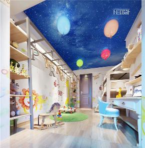 尼欧 福州设计师 别墅 简约 儿童房图片来自尼欧 | NEO设计在尼欧——《彩云之南》的分享