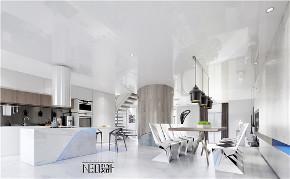 简约 现代 别墅 白领 收纳 旧房改造 小资 餐厅图片来自尼欧 | NEO设计在尼欧—《K先生的家》的分享