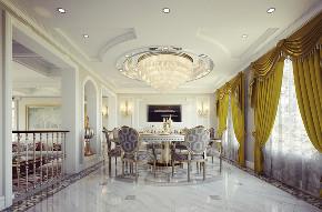 尼欧设计师 美式 别墅 福州设计师 餐厅图片来自尼欧 | NEO设计在尼欧—《高级灰+奢华金》的分享