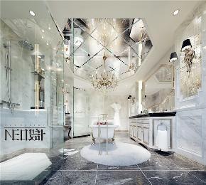 美式 别墅 收纳 旧房改造 尼欧设计师 福州设计师 卫生间图片来自尼欧   NEO设计在尼欧—《雅韵华章》的分享