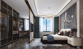 卧室图片来自朱平波在大平层.复地金融岛 【筑梦空间】的分享