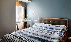 卧室图片来自家装大管家在57平北欧混搭空间 简简单单生活的分享