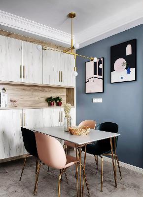 餐厅图片来自家装大管家在57平北欧混搭空间 简简单单生活的分享