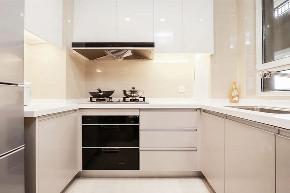 厨房图片来自家装大管家在90平北欧原木空间 简约而舒适的分享