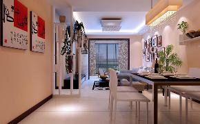 御锦城 两室 现代 简约 峰光无限 客厅图片来自我是小样在御锦城94平两室现代简约风格的分享