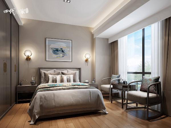新中式自然风,在传统与现代之间,流淌着家的温暖,兄弟装饰全案设计完美诠释了这一点!