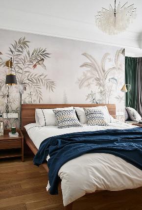 卧室图片来自家装大管家在135平美式活力3居 生机无限可能的分享