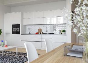 小清新 厨房图片来自晋级装饰潘露在晋级装饰——金地名誉65平米的分享