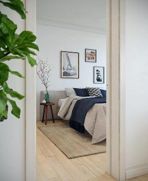 小清新 卧室图片来自晋级装饰潘露在晋级装饰——金地名誉65平米的分享