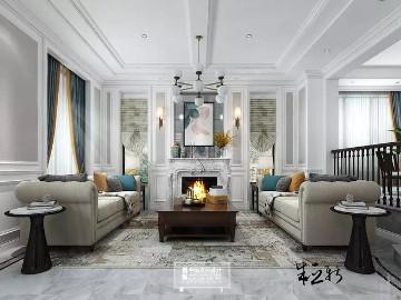 北京申远空间设计-轻美式风格