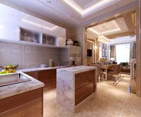 现在轻奢 厨房图片来自晋级装饰潘露在晋级装饰——旭辉御府300平米的分享