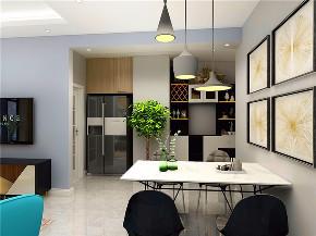 二居 简约 现代 铜仁装修 装修效果图 餐厅图片来自创艺装饰在时代天街70平现代简约风格效果图的分享
