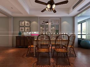 简美风格 绿城玫瑰园 四居室 餐厅图片来自山水装饰在合肥绿城玫瑰园简美风格案例的分享