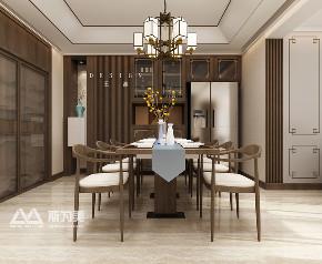 银川装修 斯为美装饰 新中式 观湖壹号 餐厅图片来自银川斯为美装饰在斯为美装饰观湖壹号248㎡ 新中式的分享