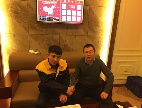 刘井峰签约现场 大连天地·悦翠台新房整体装修
