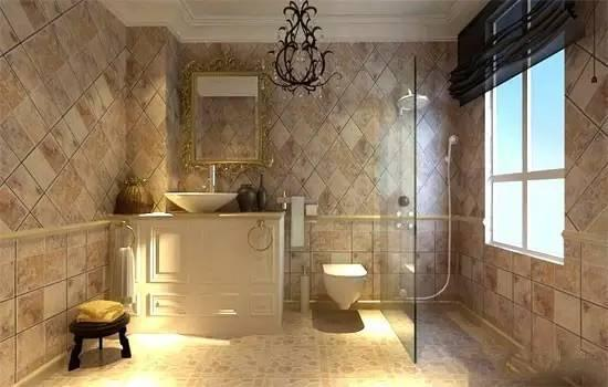 卫生间用什么瓷砖好? 四个最有效的选购技巧!