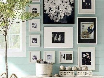 看着是艺术,贴的是套路,教你打造一面有逼格的照片墙