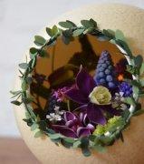 家居DIY 用蛋壳变鲜花盆景