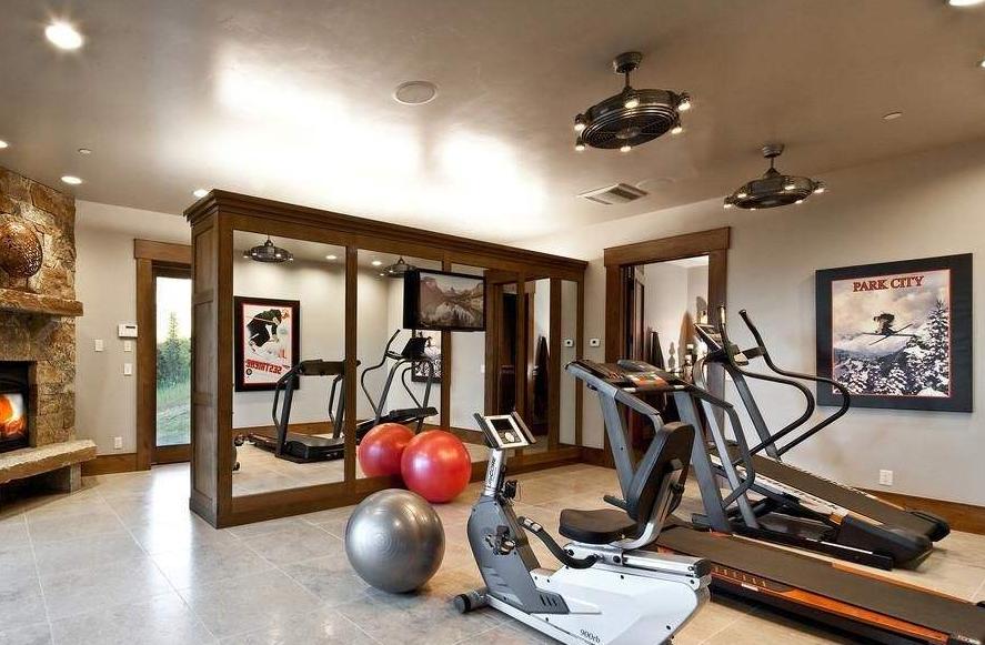 运动不出门 仅需5㎡轻松打造家庭健身房