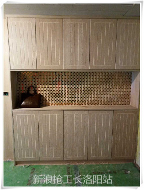木工油漆工施工现场