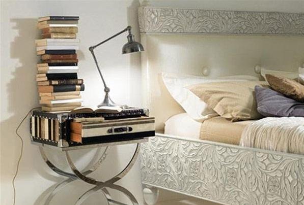 29款别具特色的家居床头柜摆放布置设计