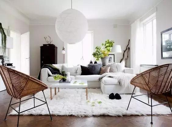 听说铺个地毯客厅就能高大上?买家秀和卖家秀的区别有多大