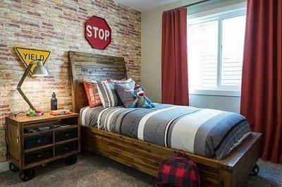 20个省空间的床头柜设计,太实用了!