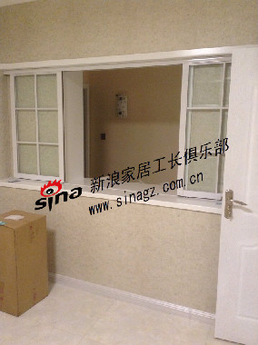 上海城装修现场