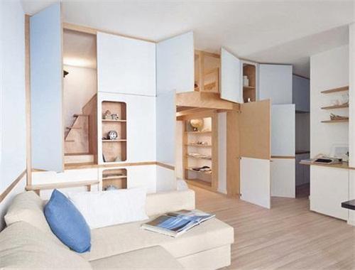 房子别怕小!她家35平做出两房,储物间里塞下了一张床!