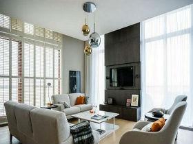 现代简约风 8万装出90平二居室