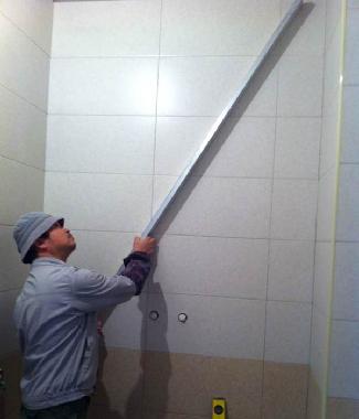 翰林院水电验收 瓷砖验收