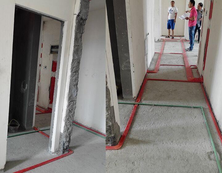 拆除玄关通道墙体做鞋柜