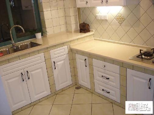 好工艺尽在抢工长---砖砌厨柜