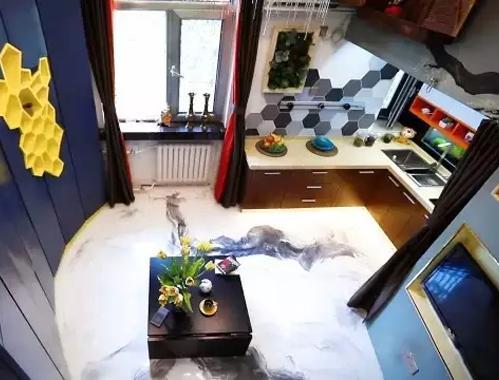 17㎡小窝爆改成5室1厅,竟然还多做了100多个柜子!