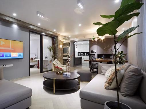 卫生间拐角变成步入式衣帽间,上海设计师夫妻把140㎡的家住成280㎡!