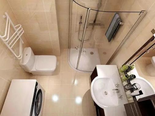 这么小的卫生间,你让我设置干湿分离? !