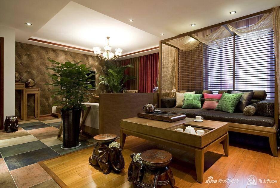 中南世纪锦城东南亚两居室