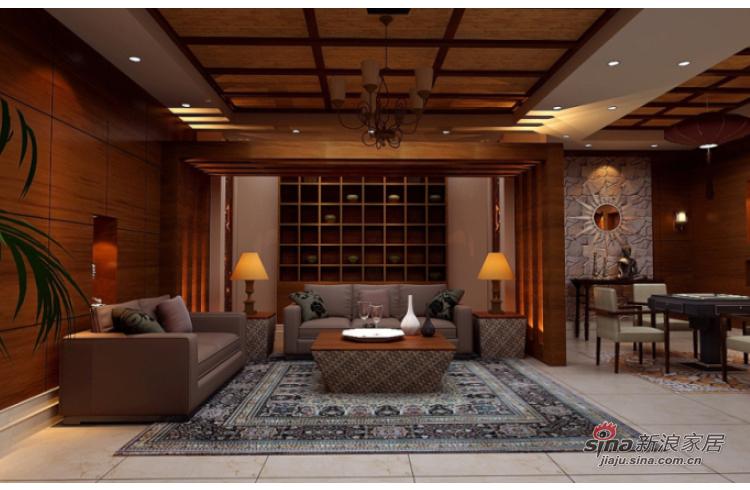 混搭 别墅 客厅图片来自用户1907691673在凤凰墅大户型别墅设计效果图50的分享
